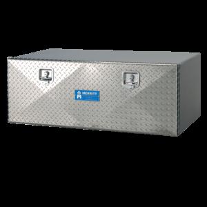 diamond plate single door toolbox