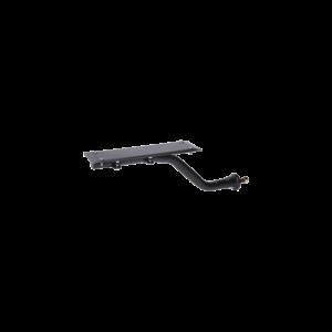 adjustable ez mount fender bracket, black