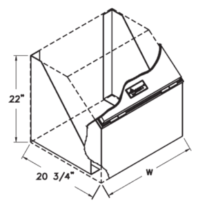 saddle box cutaway illustration