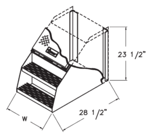 saddle box internal cutaway illustration
