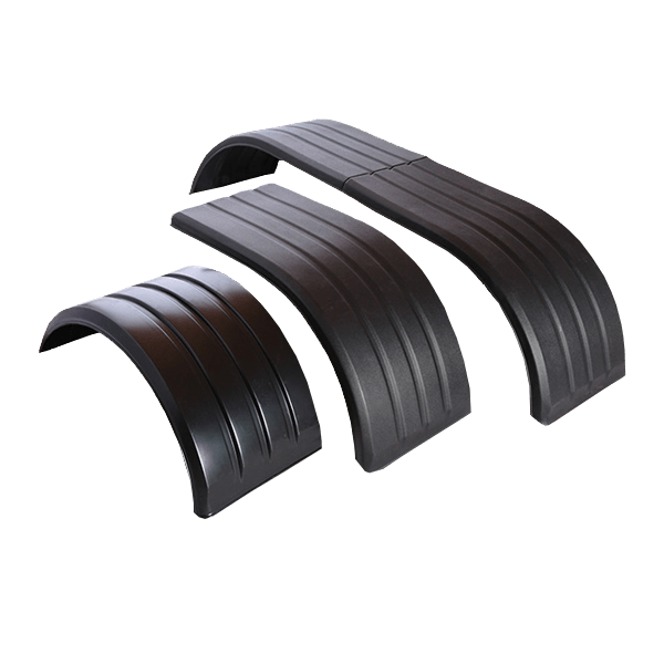 set of three poly-pro fenders